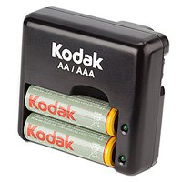 Kodak K640E-C+2 x 1800mAh Travel Charger (6/972)