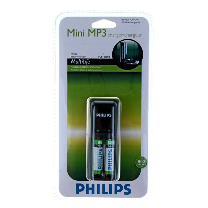 Philips Mini MP3 SCB1225 + 2 ААА 800 mAh (4/448)